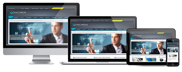 Diachron Responsive Joomla & JomSocial Theme Download