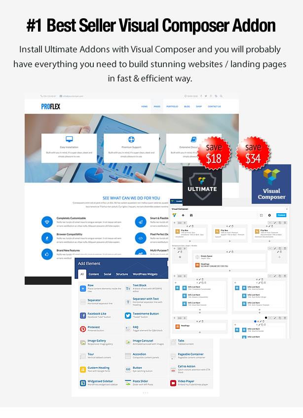 Proflex - MultiPurpose WordPress Theme - 6