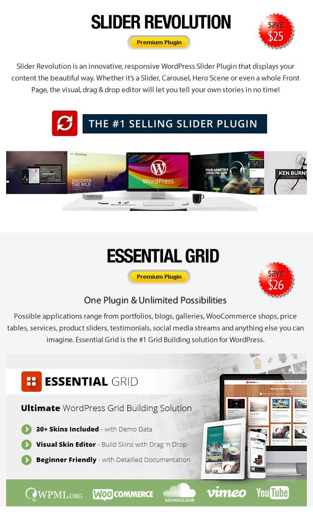 Proflex - MultiPurpose WordPress Theme - 8