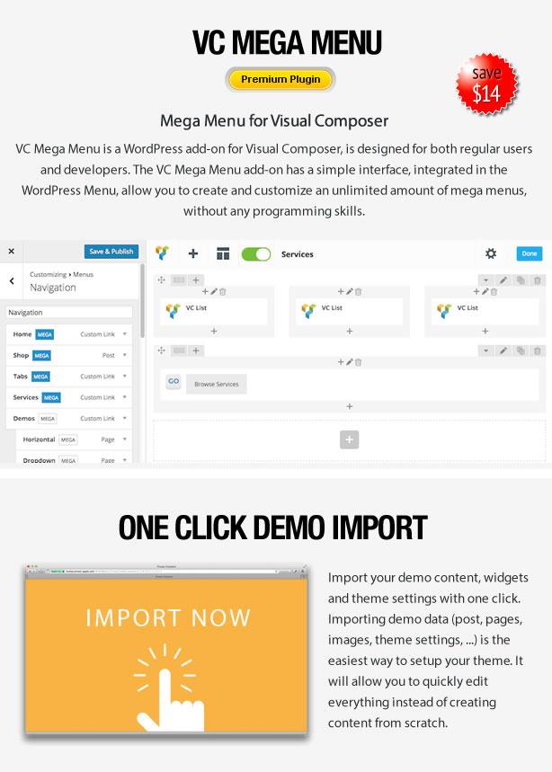 Proflex - MultiPurpose WordPress Theme - 9